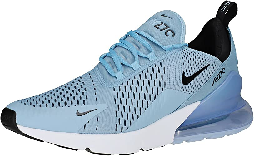 almacenamiento Saga el viento es fuerte  Nike Air Max 270 Mens Trainers Blue Black - 12 UK: Amazon.co.uk: Shoes &  Bags