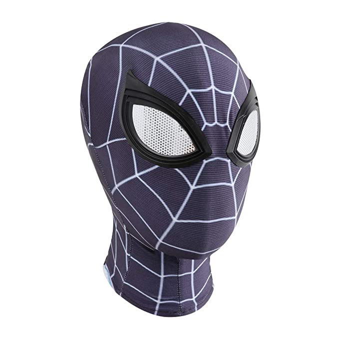 Amazon.com: Halloween Mask Spider Man Cosplay Costumes Lycra ...