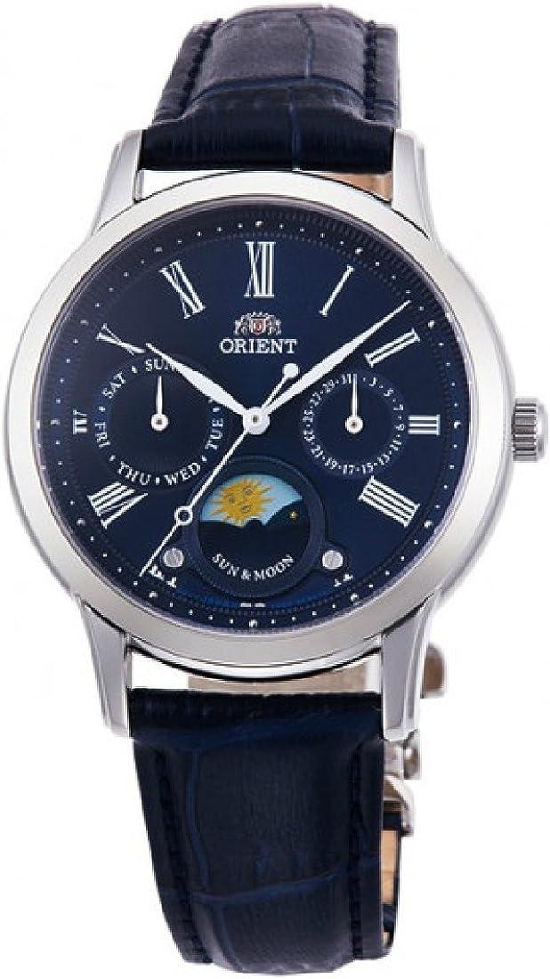 Orient Sun and Moon Blue Dial Ladies Watch RA-KA0004L10B