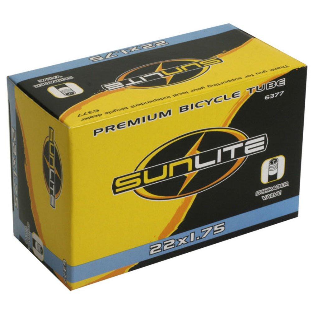 Sunlite Bicycle Inner Tube 22x1.75 Schrader Valve