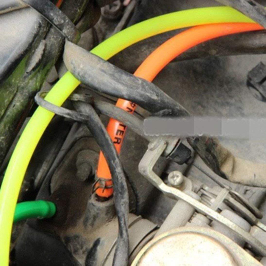 4 pcs 1.8 m conduite de carburant tuyau de lubrifiant tuyauterie pour canalisation de tron/çonneuse weedeater moteurs kit de remplacement de tuyau de conduite dessence ToGames-FR