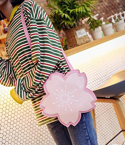 Zipper Bags Bags Sweet Lady Handbags Lovely Round Soft Pu Women Crossbody Pastoral Womens Shoulder Floral Bag Cartoon Meaeo Cool w4q07xTX7