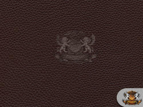 Vinyl Champion DARK BROWN Fake Leather Upholstery Fabric By the Yard (Brown Microfiber Fabric)