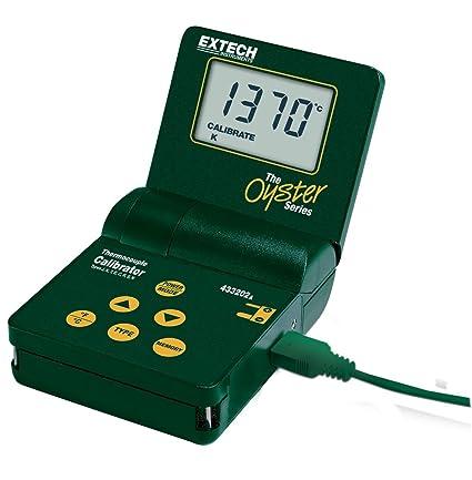 Extech 433202-240 - Calibrador y termómetro (8 tipos)
