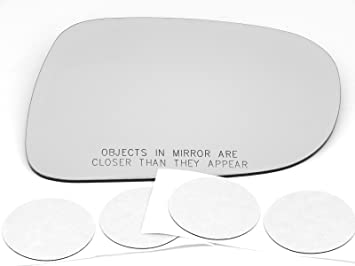 Comes with Adhesive 06-08 Lexus IS250 IS350 Right Passenger Side Convex Heated Mirror Glass Lens W//o Backing Plate Models W//o Auto Dimming USA