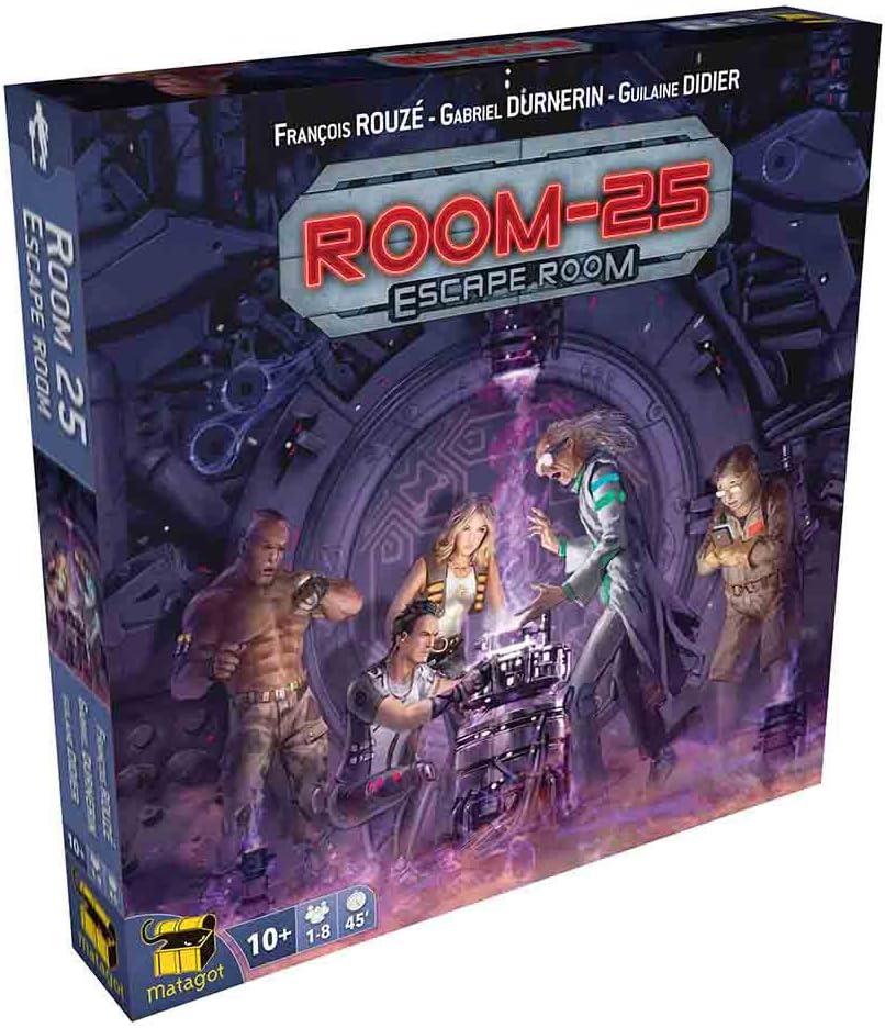 Asmodee- Juego de Tablero 25: Escape Room (MATSROO4): Amazon.es: Juguetes y juegos