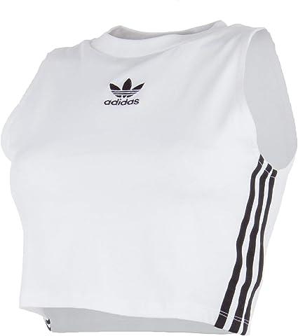 adidas Crop Tank T Shirt Femme