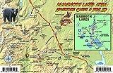 Mammoth Lakes California Map & Fish Guide Franko Maps Laminated Fish Card