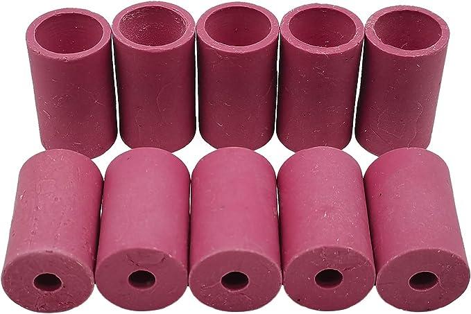 RRI 10pcs Sandblaster Nozzles Air Sandblasting Tips Ceramic Nozzle 5mm 6mm