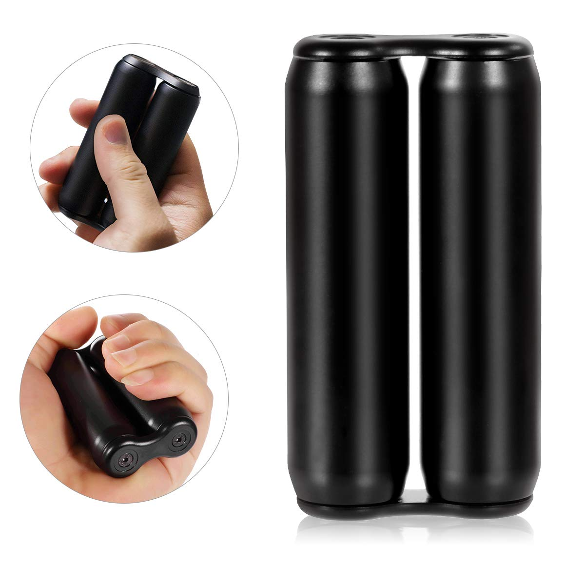 MuD-A Anti-Anxiety Toys,Handheld Fidget Toy for Adults,Relieving Stress Boredom ADHD Autism,Easy to Carry and Use (Black) by MuD-A (Image #1)