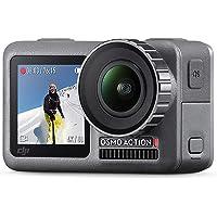 DJI Osmo Action Cam - Cámara digital con 2 pantallas, impermeable 4K HDR-Video 12 MP con ángulo de 145 °