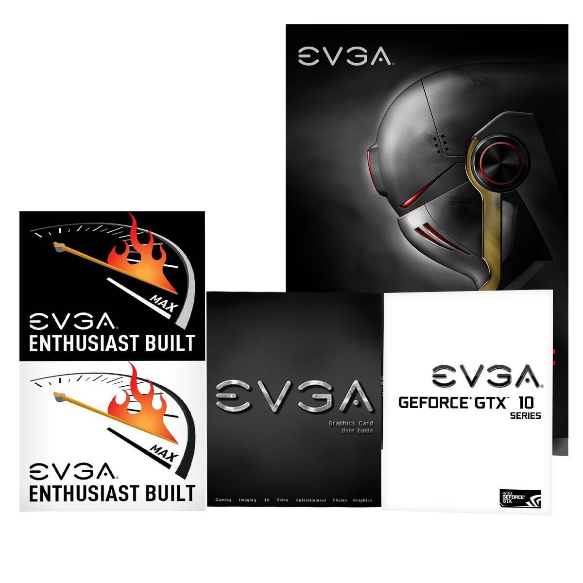 iCX Cooler /& LED EVGA GeForce GTX 1080 Ti SC Black Edition GAMING Interlaced Pin Fin Grafikkarte 11G-P4-6393-KR 11GB GDDR5X Optimized Airflow Design