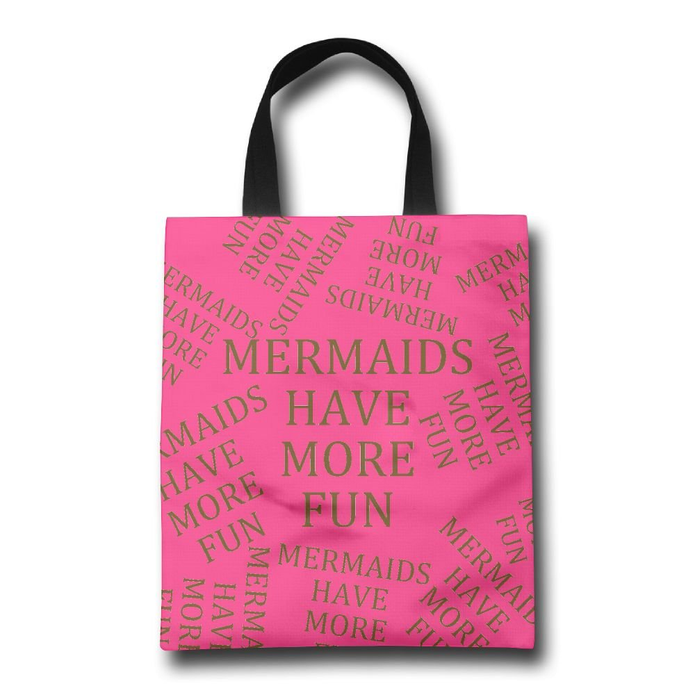 80031d3b0a1b Mermaids Have More Fun Fashion Tote Bags Large Capacity Reusable ...