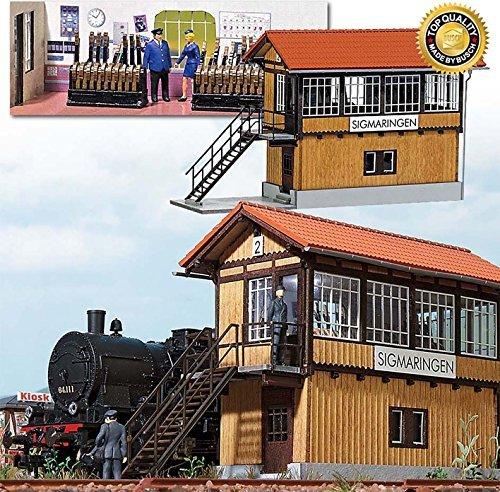 ventas calientes HO Scale Scale Scale Signal Tower Sigmaringen by Busch  protección post-venta