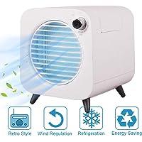 MindSpoon Portable Air Cooler, Mini Mobile Air Conditioner, 4-in-1 Mini Air Conditioner Cooler and Humidifier, Purifier…