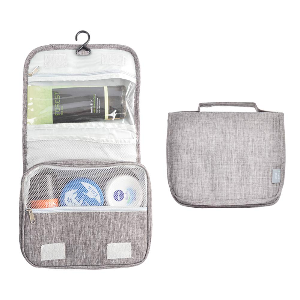 HOMEE Toiletry Bag, Multifunction Pratable Cosmetic Bag, Travel Hanging Organizer Case for Men and Women.