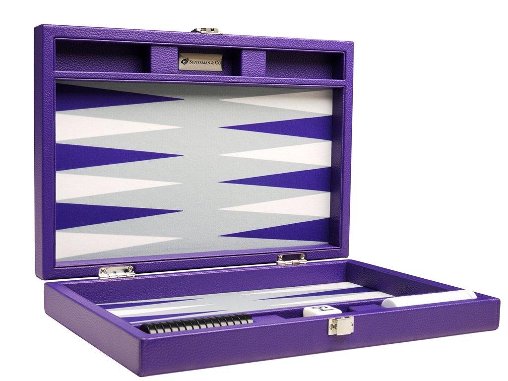 人気大割引 13-inch Premium - Travel Backgammon Set Premium - Travel Purple Board B01KU3F57Y, 手汗消臭臭いケア専門ロエグア:f06486fa --- arianechie.dominiotemporario.com