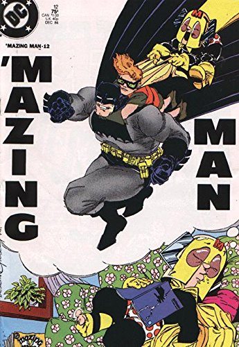 Mazing Man (1986 series) #12