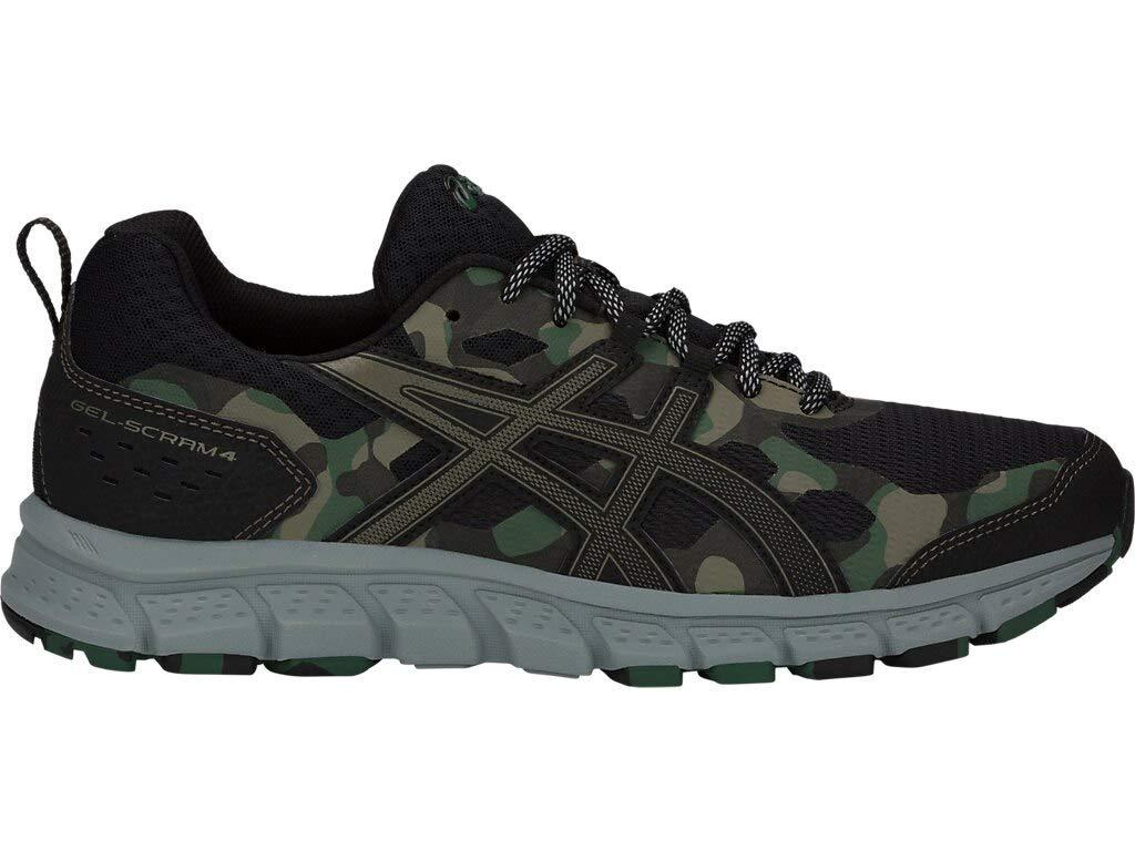 ASICS Men's Gel-Scram 4 Running Shoes, 6M, Black/Irvine