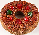 DeLuxe Fruitcake 2 lbs. 14 oz. Gourmet Food Gifts, Food Gift Basket, Christmas Gifts, Holiday Gifts, Thanksgiving, Birthday for Men and Women, Corporate Gifts