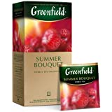 Greenfield Summer Bouquet Herbal Tea Fruit & Herbal Collection 25 Teabags The Execptional Freshness Of Tea Is Guranteed…