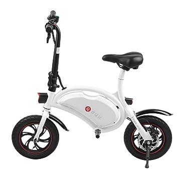 """Bicicleta Eléctrica Plegable, ruedas de 12"""", Aluminio, Batería Ion-Litio 36V"""