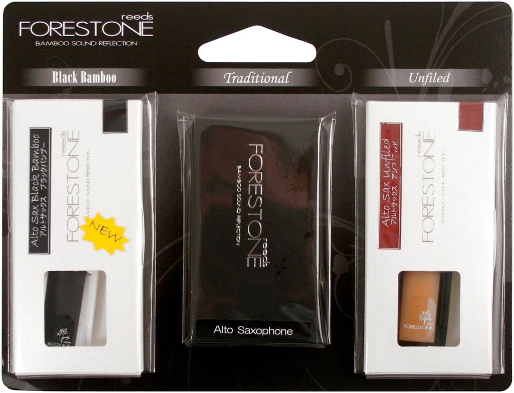 Forestone Alto Saxophone 3-Reed Sample Pack Strength 2.5