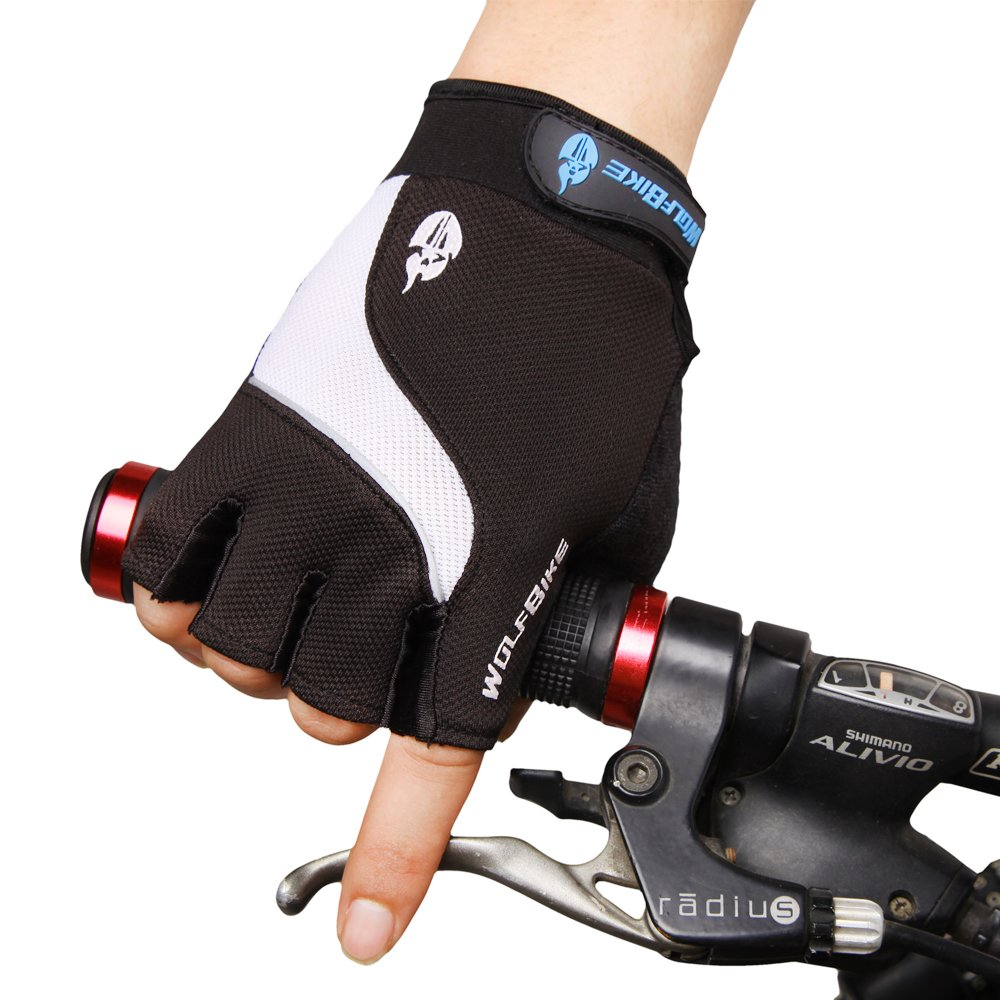 WOLFBIKE Non-Slip Gel Pad Gloves Cycling Riding Gloves