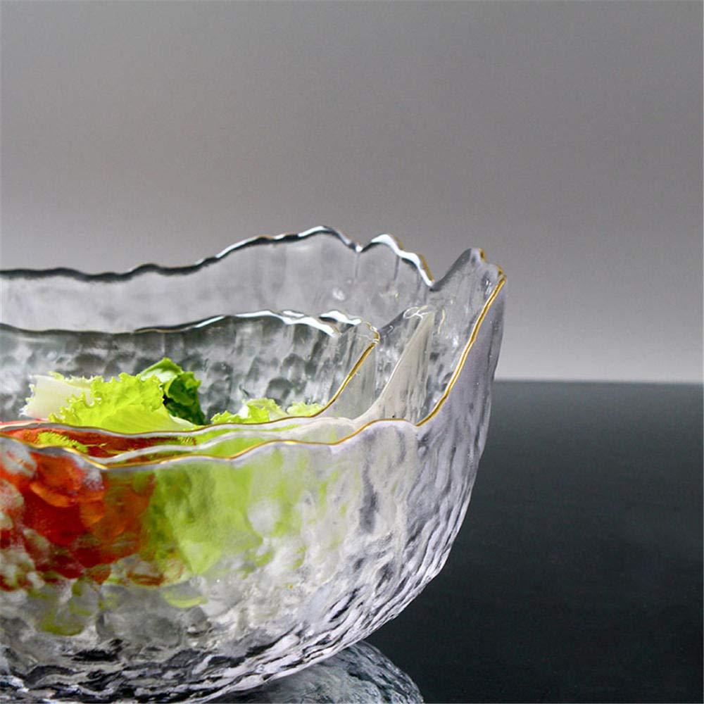 frutero frutero Plato de fruta vitrina de almacenamiento de metal@Azul frutero de hoja de loto frutero
