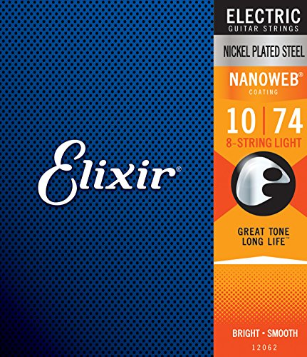 Elixir Strings Electric Guitar Strings - Gibson 8 String