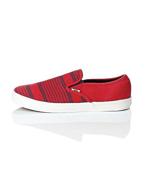 Vans - Mocasines para hombre Rojo rojo EUR 44½