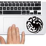 House of Targaryen Game of Thrones - Trackpad Apple Macbook Laptop Vinyl Sticker Decal