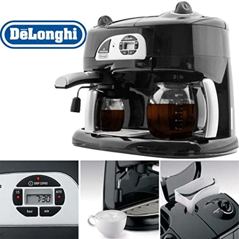 Amazon.com: DeLonghi bco120t Combinación máquina de café ...
