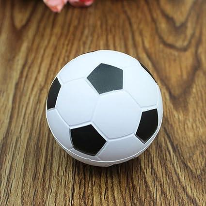 MAJGLGE - Pelota de fútbol para niños y Adultos, Suave y esponjosa ...