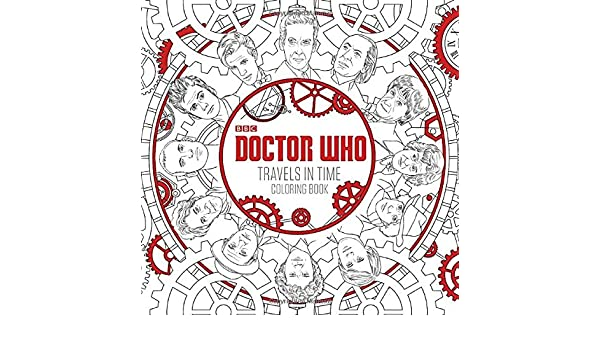 Doctor Who Travels In Time Coloring Book Price Stern Sloan 9780451534255 Books