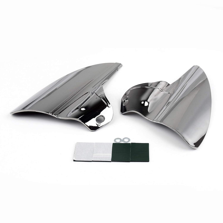 Artudatech Saddle Shield Heat Deflector For Harley Road Electra Glide&Trike 2009-15 Smoke