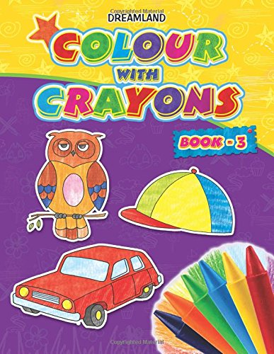 Colour with Crayons book - 3