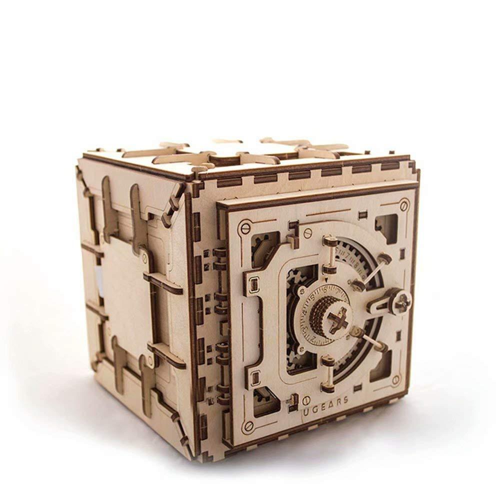 comprar marca A Transmisión mecánica mecánica mecánica de Madera Modelo Caja de Bloqueo Bricolaje Juguete montado ensamblado Adulto transmisión de Engranaje mecánico   Montaje Libre de peJuegonto-19.6  18.5  17.6cm  venta con alto descuento