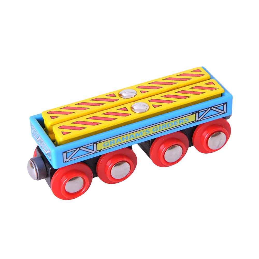 【半額】 Bigjigs Rail Bigjigs Grahamのガーダーワゴン Rail B002GJG818 B002GJG818, キャラクター子供服のズーワッカ:1f740867 --- test.ips.pl