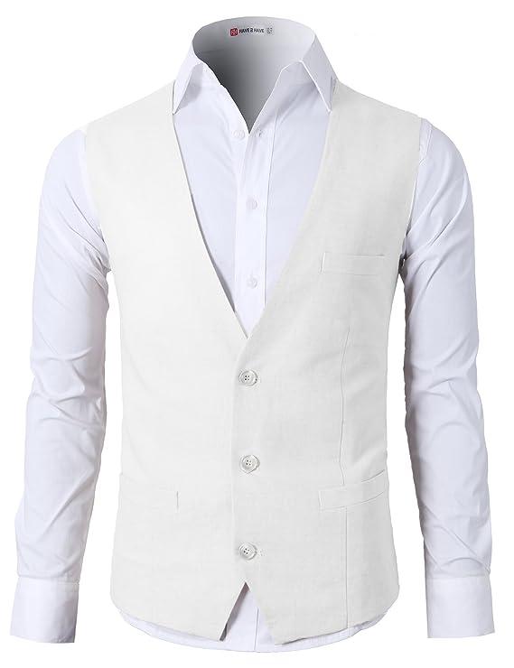 H2H Business Casual Slim Fit Elegante Traje Solid 3 Botón ...