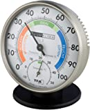 TFA Dostmann 45.2033 Präzisions Thermo-Hygrometer (anthrazit)