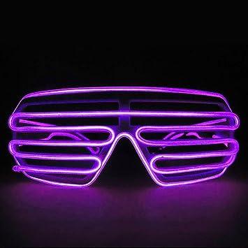 HuntGold Party Nachtclub Cool LED-EL Draht Gläser Helle bis Schlitz ...