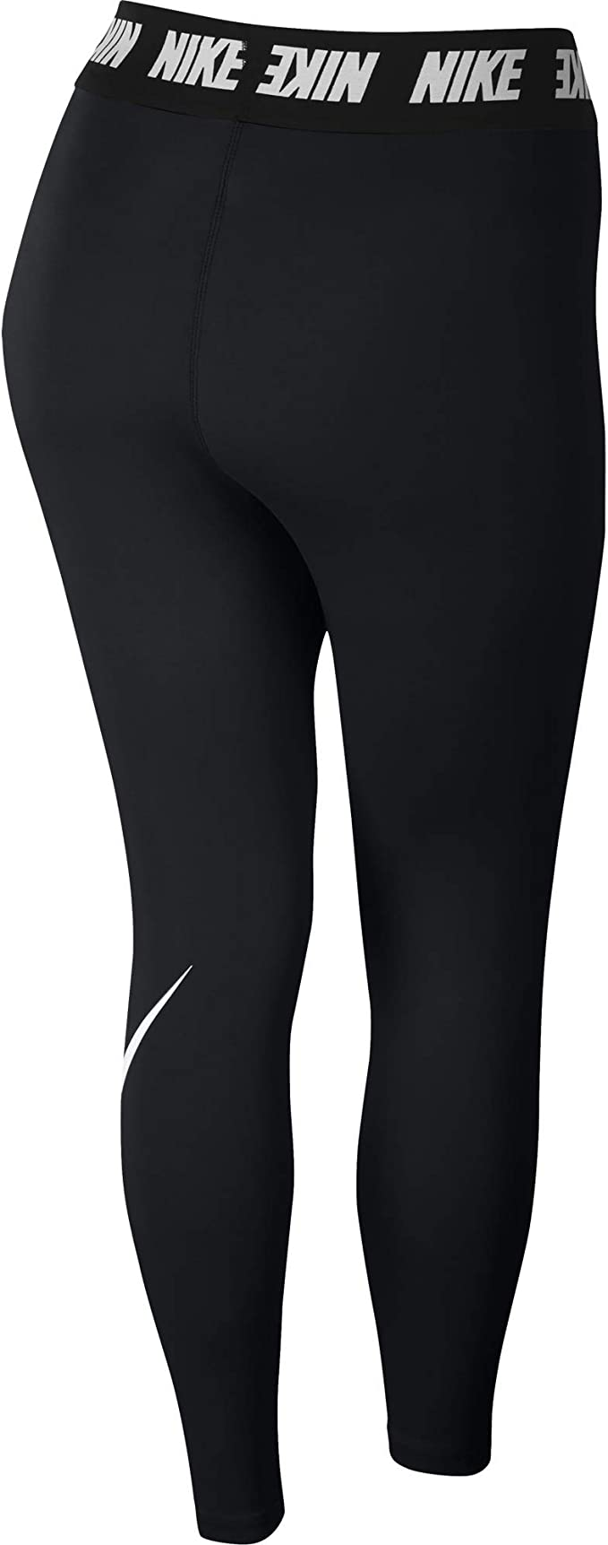 Nike Damen Club Logo Leggings Fitness Trainings Hose Pant grau