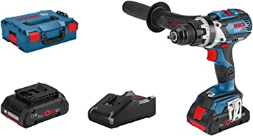 Bosch Professional Gsr 18 V System Cordless Drill 18 V 110 C Max Torque 110 Nm Max Screw Diameter 12 Mm Incl 2 X 4 0 Ah Procore Battery Charger Gal 18 V 40 In L Boxx Baumarkt