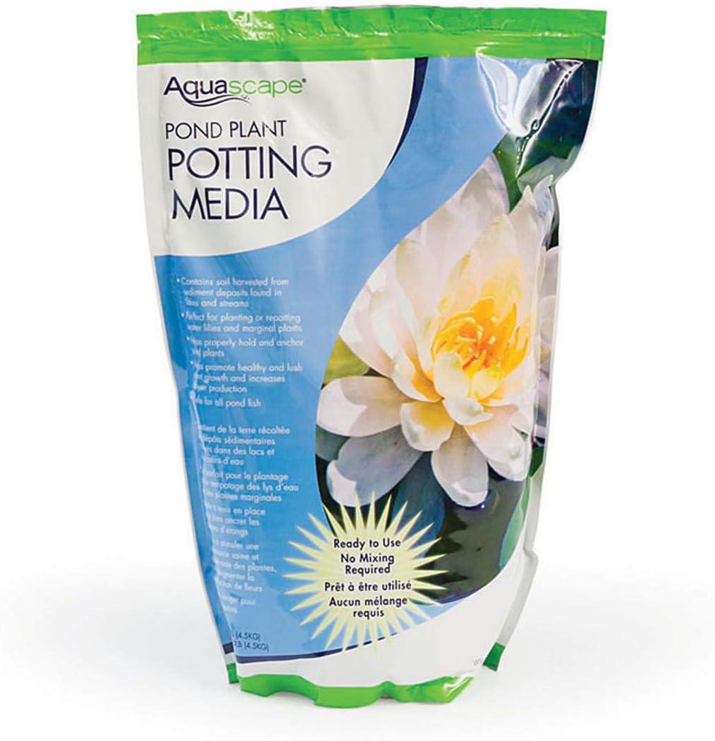 Aquascape 89002 Pond Potting Media for Aquatic Plants, 10 Pounds | 890, 215 Cubic inches, Brown