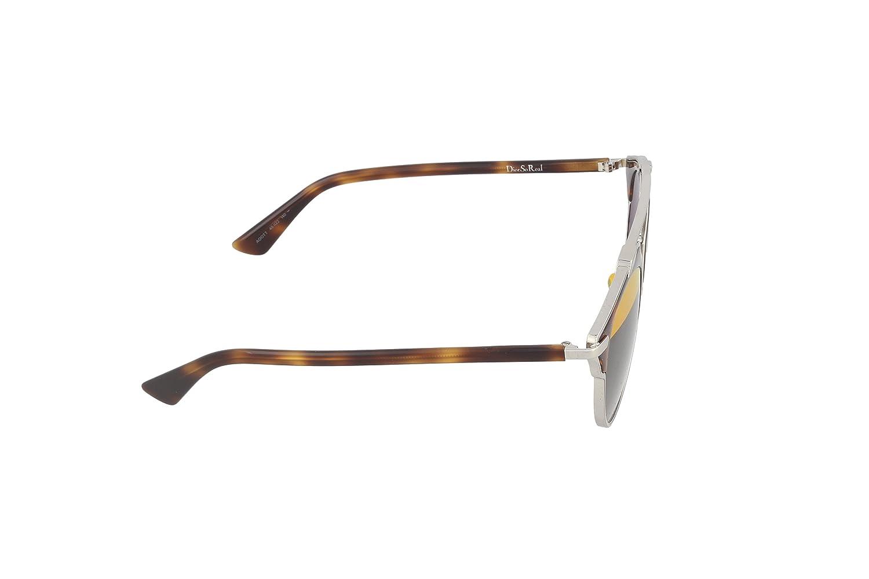 56a18027a9c Amazon.com  Dior Sunglasses Dior So Real Sunglasses AOOTT Silver and Havana  48mm  Clothing