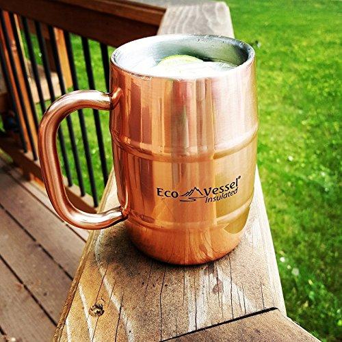 Porcelain Barrel Mug - 4