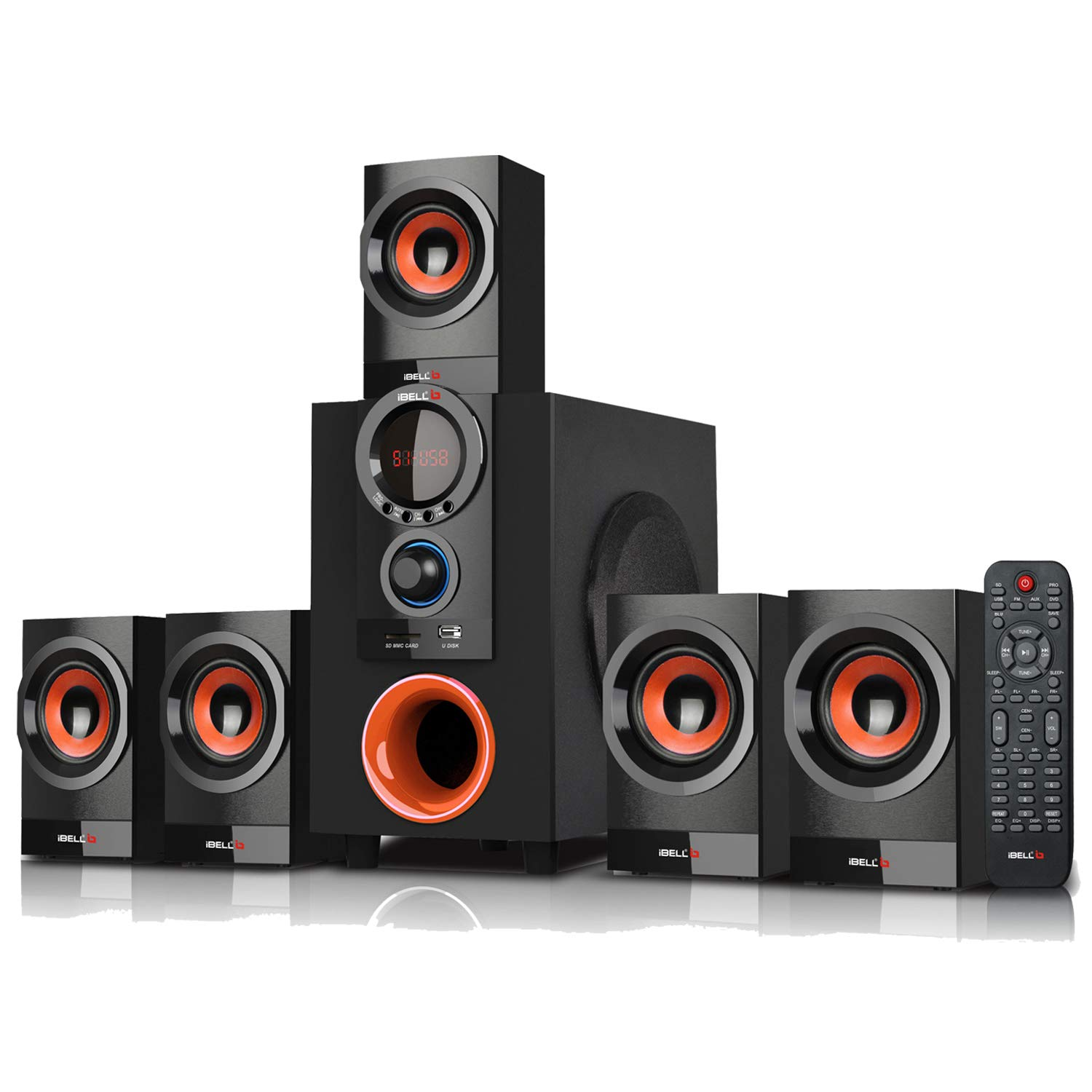 iBELL IBL2039 DLX 5.1 Home Theater Speaker System