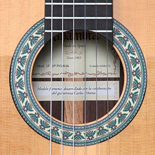 Guitarra Flamenca Alhambra 5FP OP Piñana (4/4): Amazon.es ...