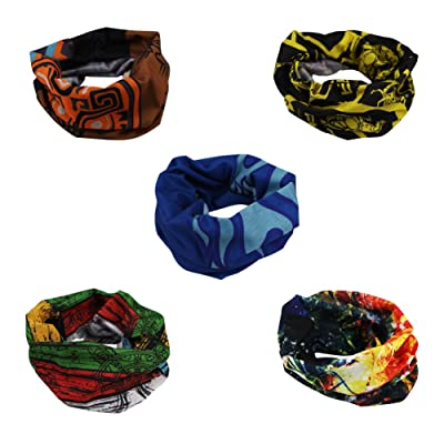 Outdoor Multifunctional Sports High Elastic Magic Scarf Headscarves Headbands Wrap for Outdoor Activities